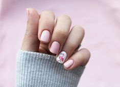 Nails , flamingo , manicure, pink , gel polish , summer , ногти , маникюр , фламинго , весна , лето , гельлак , гель ,