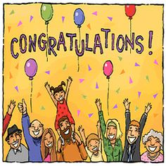 Congratulations to All IQD Investors Because of Their Bright Future Birthday Greetings, Birthday Wishes, Ways To Say Congratulations, Winner Announcement, Good Luck Cards, Holiday Pictures, Bright Future, Greeting Cards, Coding