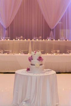 Featured Photographer: Britta Marie Photography; Wedding cake idea.
