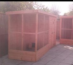 All sorts of rabbit housing idea for you to view. Great ideas, lots of fun and ways to make your bunnies' housing an attractive feature in the garden/home as well as a fantastic environment for. Bunny Sheds, Rabbit Shed, Rabbit Hutch Plans, Outdoor Rabbit Hutch, Rabbit Run, Rabbit Cages, Rabbit Hutches, Diy Bunny Hutch, Quail House