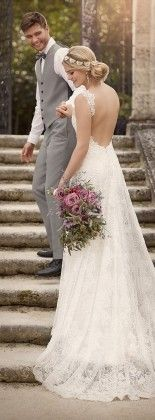 Lace Wedding dress by Essense of Australia Spring 2016 Bridal