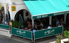 Zee Best, St. Maarten - breakfast & lunch, walking distance from the condo. My favorite breakfast hangout. French cuisine without the attitude.
