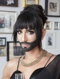 French Maid Dress, Bearded Lady, Make A Man, Fashion Poses, Rupaul, Lesbian, Im Not Perfect, Things To Think About, Beauty