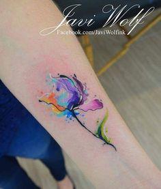 Watercolor flower - DISEÑO Y ESTILO PROPIO