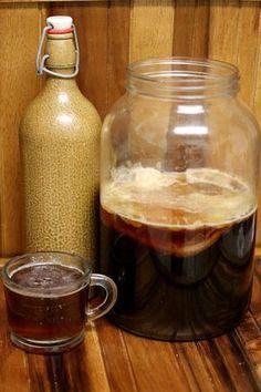 Coffee Kombucha | Cultured Food Life