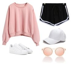 """51"" by ddaisiee on Polyvore featuring adidas"