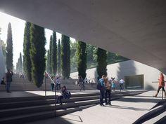 Zaha Hadid Architects divulga projeto para Museu do Holocausto, em Londres (Foto: Divulgação)