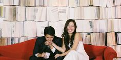 """This couple just proved that when it comes to weddings, the terms """"geek"""" and """"chic"""" are not mutually exclusive.   Actress-singer Saab Magalona and musician Jim Bacarro tied the knot on January 25 in Baguio, Philippines. The pair..."""