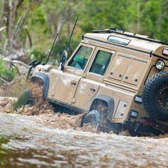 "theoverlandblog: "" Okay okay! Let's go! Photo: @rest.active #adventuremobile #overland #landrover """