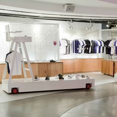 Summer Lifeguard Chair Inspired Retail Display | Seasonal Visual Merchandising Design
