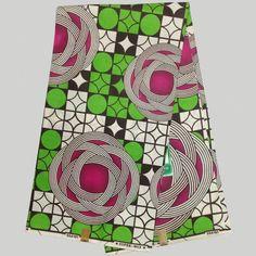 NASW-2 African Wax Print Fabric,Luxury Wax Print, Super Wax Hollandais Design…