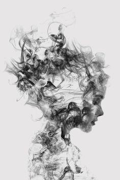 Dissolve Me by Daniel Taylor - canvas print