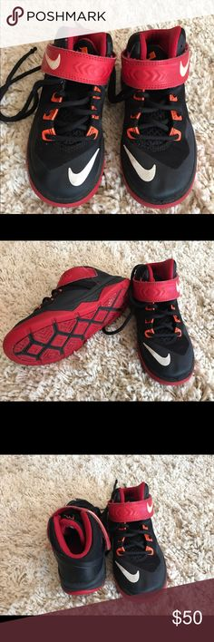 Kids Lebron Sneakers Good condition size 11c Nike Shoes Sneakers