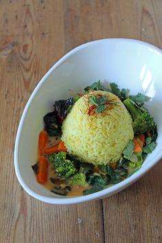 Gemüsecurry mit Mangold