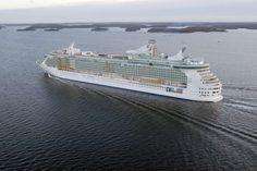 Os 7 maiores navios de cruzeiro do mundo