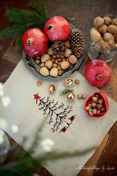 I love using gifts from the earth to decorate for the holidays #NapaValleyHoliday
