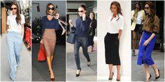styl victorii becham wysoki stan Beckham, Pants, Clothes, Fashion, Trouser Pants, Outfit, Clothing, Moda, La Mode