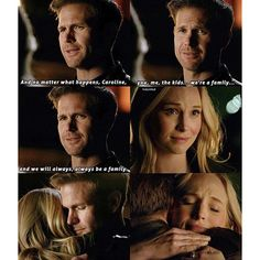 "#TVD 7x22 ""Gods & Monsters"" - Caroline and Alaric (Part 2/2)"
