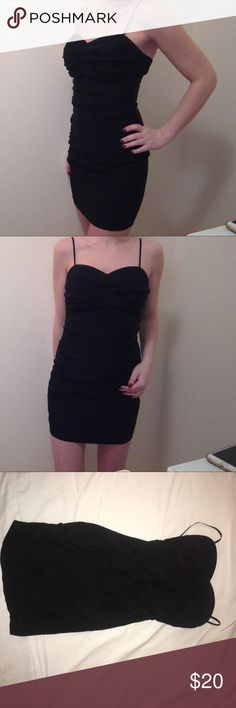 Ruby Rox Little Black Dress Ruby Rox Little black dress. Juniors size 7 (runs small, I usually wear a size 4 dress but this fits me)! Worn twice, great condition Ruby Rox Dresses