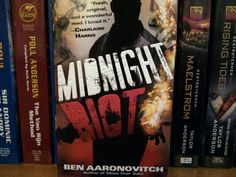 #DailyBookPic Read This! Midnight Riot (or Rivers of London,in the UK).Terrific urban fantasy series opener
