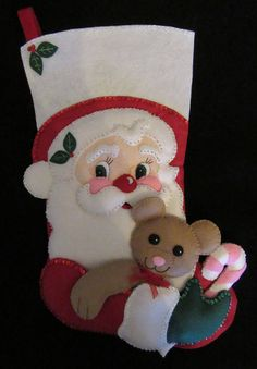 I hand cut and stitch my stockings with love and care. Each stocking takes over 35 hours to make and comes completely lined. All beads and sequins are also attached by hand. Please let me know in the message box the name of the person to be stitched onto stocking and if you have