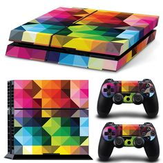 Protector for ps4 from dust and scratches PVC vinyl skin for ps4 video games  skin sticker for ps4 controller and dualshock 4