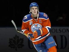 Oilers captain Connor McDavid set the tone for opening night and the rest of the season Connor Mcdavid, Hockey Logos, Wayne Gretzky, Tim Hortons, Edmonton Oilers, Nfl Fans, National Hockey League, Detroit Red Wings, Hockey Players