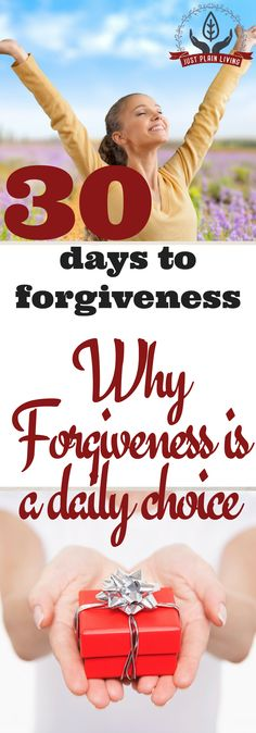 Most people have very little actual understanding of what forgiveness is, why it should be part of your daily life, and who exactly forgiveness benefits. Even Christians treat it as something we do out of duty or to gain a reward for good deeds done.