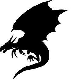 Flying Dragon Image - clker.com-fantasy-pin-1