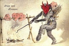Austria's Krampus.  Saint Nick's evil counterpart.  Think US kids need a dose of this guy each season