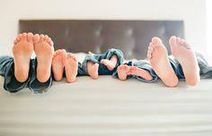 Family Feet Photo