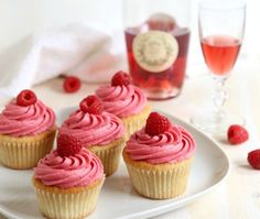 Who said you can't have your wine and eat it too? Okay, maybe no one. But these raspberry rosé wine cupcakes are the perfect combination of dessert and wine. Raspberries go so perfectly with rosé wine, it's a match made in heaven! To get a really concentrated flavor of theGet the Recipe
