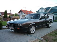 1985 Ford Capri Pictures: See 13 pics for 1985 Ford Capri. Browse interior and exterior photos for 1985 Ford Capri. Ford Capri, Ford Motor Company, Retro Cars, Vintage Cars, Mercury Capri, Ford Classic Cars, Old Fords, Classic Motors, Car Ford