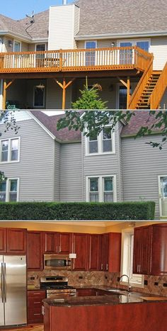 Check out this full scale home remodeling company that specializes in porch services, basement finishing and siding. They also handle masonry work, flooring, roofing, kitchen remodeling and more.
