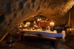 La Grotte Restaurant at Domaine de Murtoli in Corsica, France
