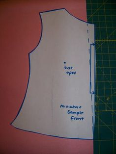Phat Chick Designs: Fitting Tutorial: Removing Neck Gape -- two methods