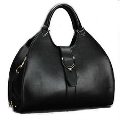 Buckled Leather Tote Handbag - The Best Accessory  - 1