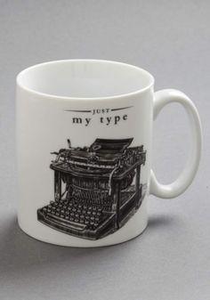 ModCloth Steampunk My Favorite Dings Mug