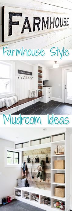 Rustic Farmhouse Style Mudroom Ideas Youu0027ll Love. Lots Of Mud Room Decor And