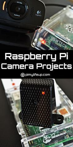 Raspberry Pi Camera Projects - Raspberry PI & Arduino Love video and photography? There are plenty of Raspberry Pi projects based on this topic that you can do. Raspberry Pi Computer, Raspberry Pi Camera, Robotics Projects, Arduino Projects, Software Projects, Diy Electronics, Electronics Projects, Computer Projects, E Bike Diy