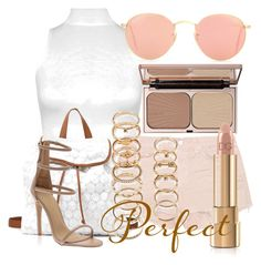 """""""fg448"""" by axenta ❤ liked on Polyvore featuring WearAll, Ray-Ban, J Brand, Charlotte Russe, Charlotte Tilbury, Dolce&Gabbana and Forever 21"""