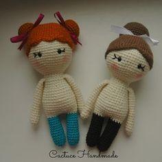 Вязаные куколки амигуруми маленькие леди. Схема и описание вязания от Анастасии Макеевой