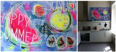 "Saatchi Online Artist Yuliya Vladkovska; Painting, ""happy summer"" #art"