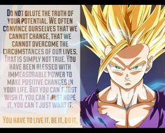 What I learned from Dragon Ball Z. <3
