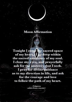 Moon Affirmation~Perfect for this upcoming Intense Full Moon! Moon Affirmation~Perfect for this upcoming Intense Full Moon! Moon Affirmation~Perfect for this upcoming Intense Full Moon! Full Moon Spells, Full Moon Ritual, Full Moon Meditation, Full Moon Quotes, New Moon Rituals, Magick Spells, Real Spells, Healing Spells, Wicca Witchcraft