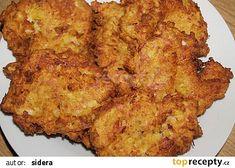květákové placičky Healthy And Unhealthy Food, Chorizo, Cauliflower, Banana Bread, French Toast, Pork, Treats, Vegetables, Cooking