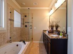 Simple Master Bathroom