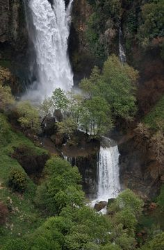 Cascade at Bassatine-el-Ossi - بساتين العصي, via Flickr. Near Kfar Hilda, spring melt-off, beautiful area...love it