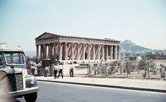 Kι όμως, κάποτε περνούσε δρόμος μπροστά από το ναό του Ηφαίστου στο Θησείο