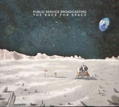 Public Service Broadcasting - The Race For Space, Grey